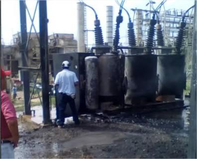 Aplican racionamiento eléctrico en Vargas por incidente en planta de Tacoa
