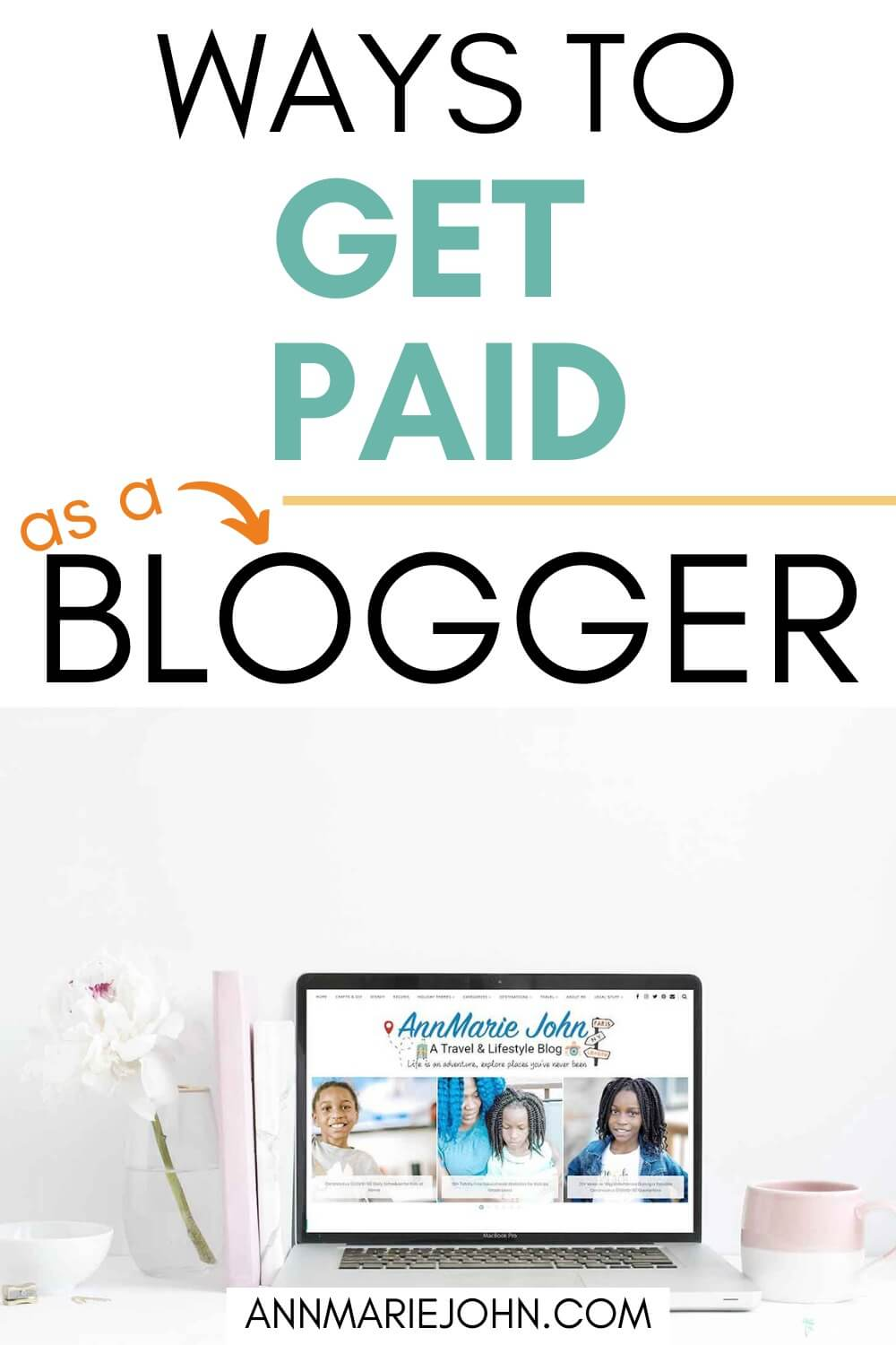 ways that you can get paid as a blogger.