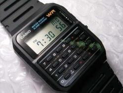 El reloj con calculadora