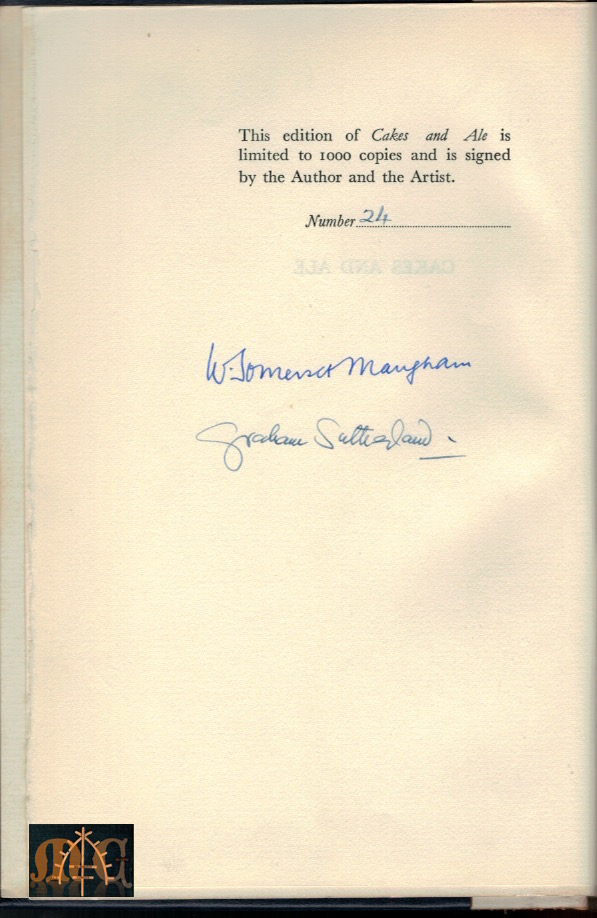 Maugham S Cakes And
