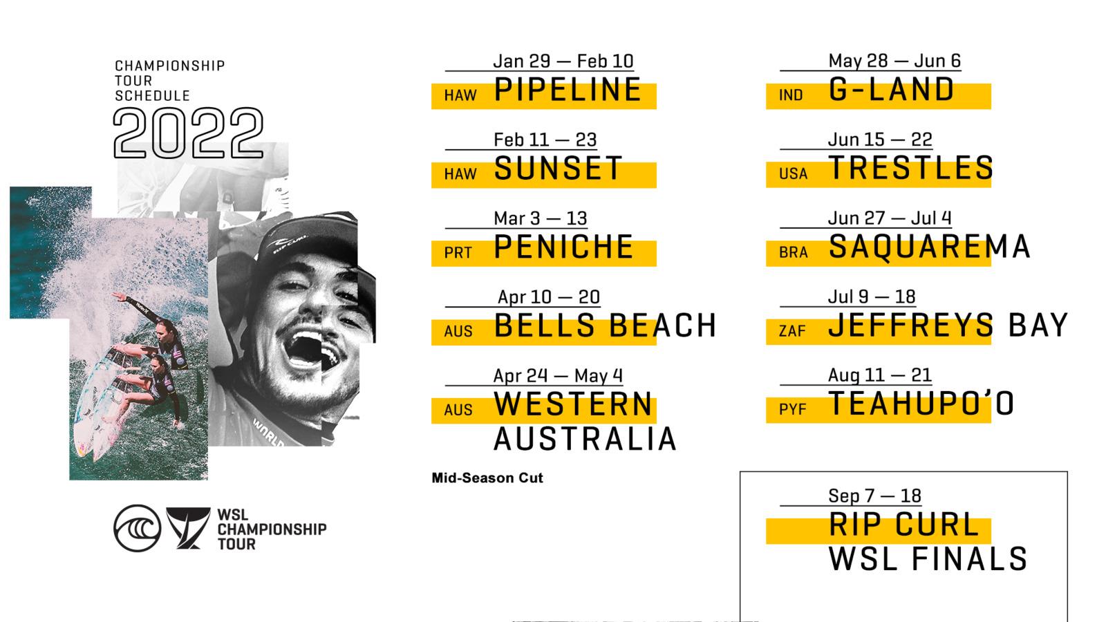 2022 Championship Tour calendar_max