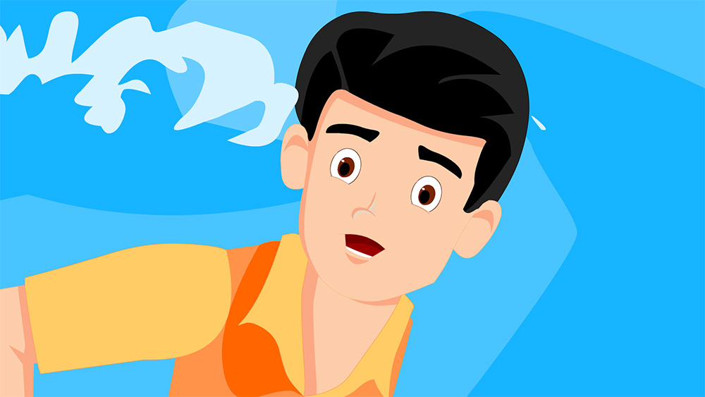 Rahul, Montu And The Dolphin