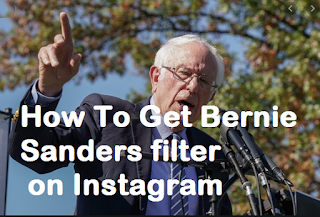 Bernie sanders filter instagram || Here's how to get Bernie Sanders filter on Instagram