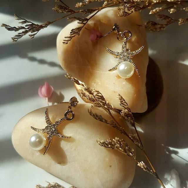Dijual perhiasan emas imitasi impor cantik berkualitas KWANG EARRING, Toko Online Jakarta