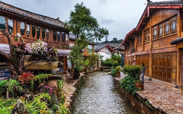 เมืองเก่าลี่เจียง (Old Town of Lijiang: 丽江古城)
