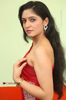 Actress Zahida Sam Latest Stills in Red Long Dress at Badragiri Movie Opening .COM 0012.JPG