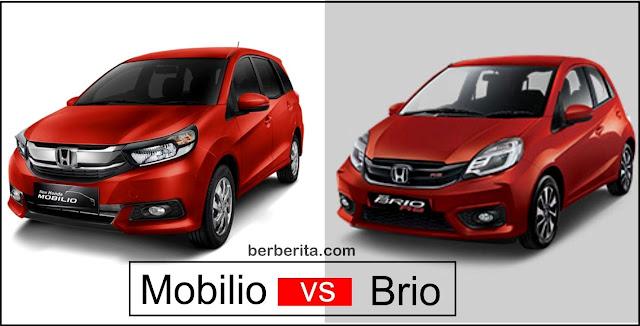 Mobilio vs Brio Honda MPV atau LCGC Hatback