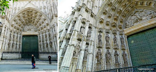 Portal da Catedral de Sevilha