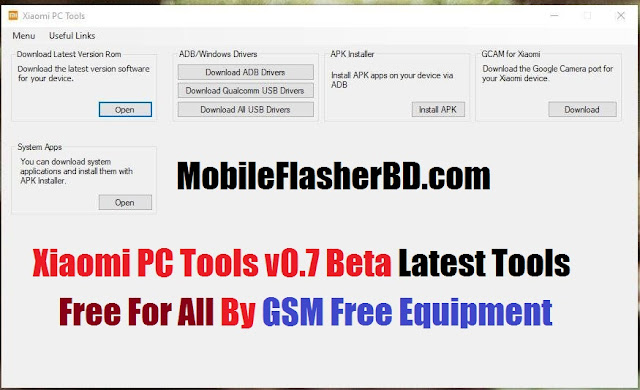 Download Xiaomi Pc Tool V0.7 Beta Unlock Tool Latest Update Free For All Without Password