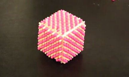 How to Make a Match Stick Cube