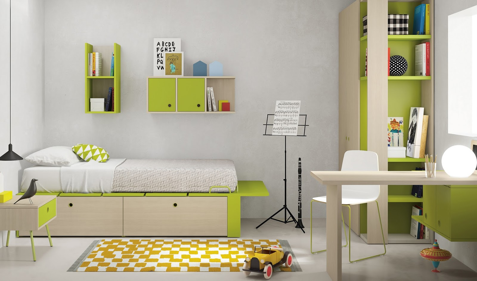 contoh desain - contoh desain kamar anak / bayi photo gambar dan tips