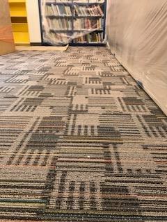 New Carpet in Children's Area