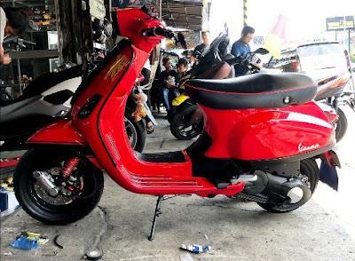 bengkel modifikasi motor DIY