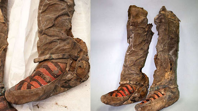 Archeologists Restored This 1,100-year-old Mummy Wearing 'Adidas Sneakers!