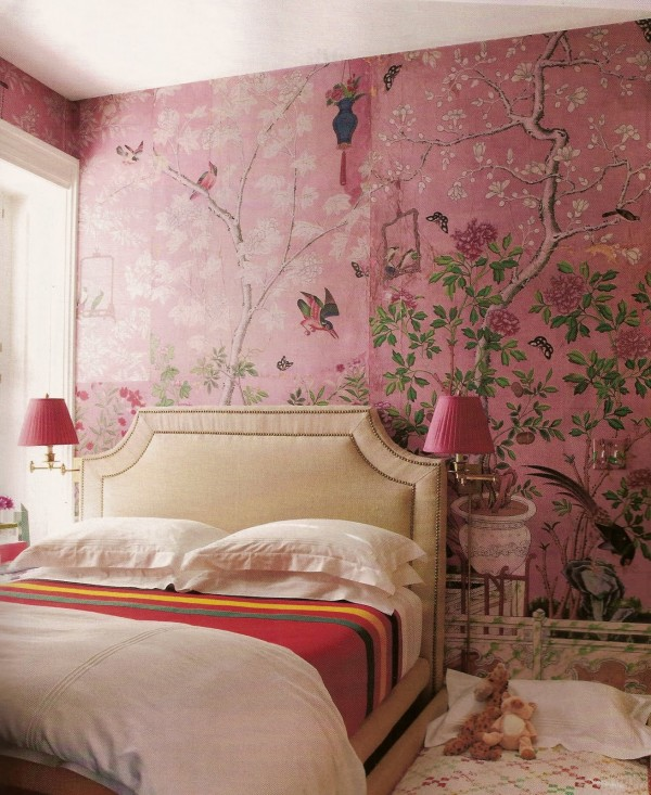 De Gournay, In The Pink