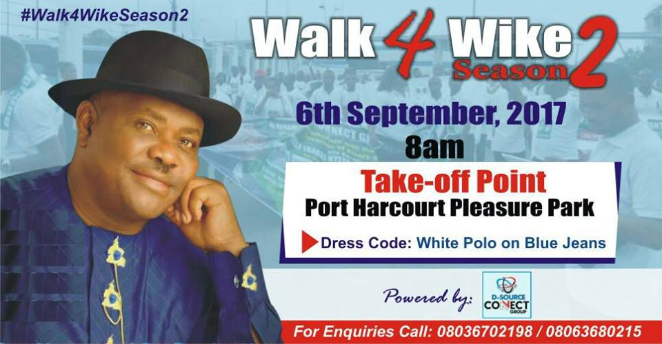 Walk 4 Wike Season 2