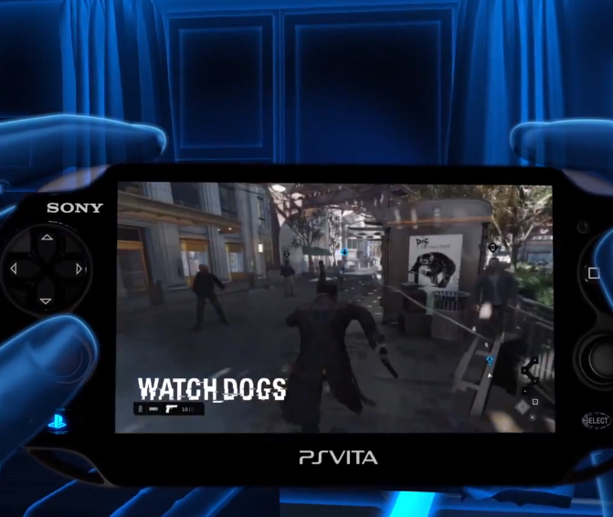 Official PS4 PS Vita Remote Play Trailer