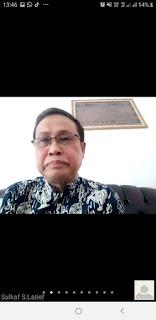 Mewakili Gubernur Sulsel Kadis DKP Membuka Webinar Kemaritimian Indonesia Timur
