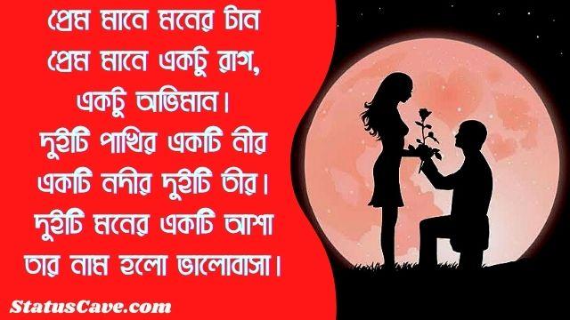 Bangla Romantic Status 10