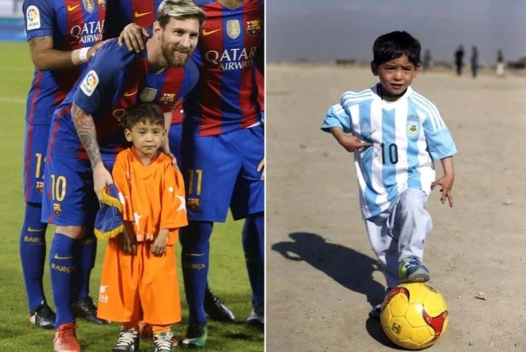 كيف حول ميسي حياة طفل أفغاني إلى جحيم؟