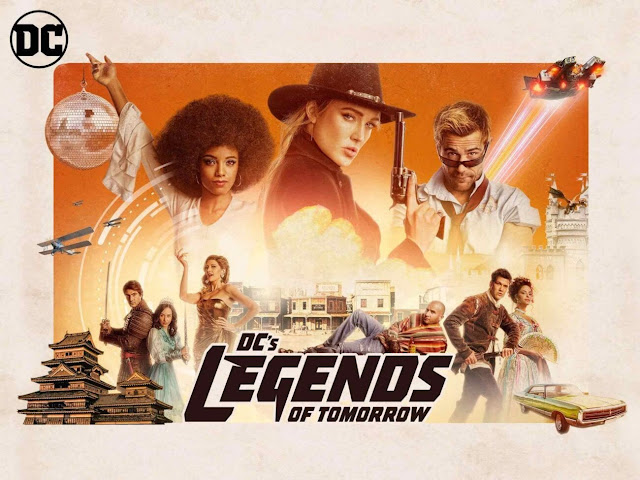 Promo poster for DC's Legends of Tomorrow Season 5