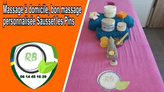 Massage à domicile, bon massage personnalisée Sausset les Pins;