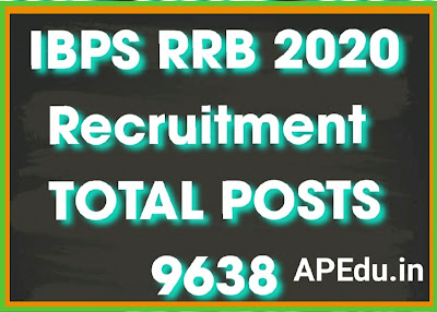 IBPS RRB 2020 Notification Out for 9638 Office Assistant and Officer Posts