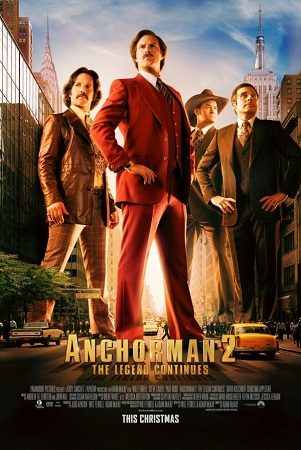 Film Anchorman 2: The Legend Continues 2013