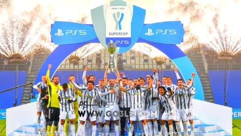 يوفنتوس بطل كأس السوبر الايطالي