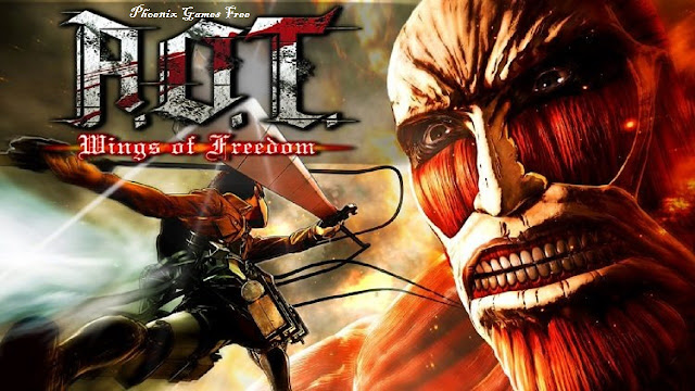 attack on titan wings of freedom movie download