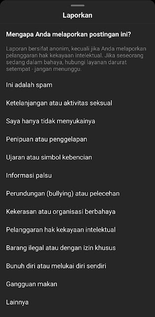 Cara Report Akun Instagram 2-2