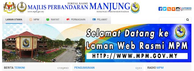 Rasmi - Jawatan Kosong (MPManjung) Majlis Daerah Manjung 2019
