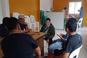 Para Supir Sangkal Berita Pungli Yang Dituduhkan Pada Ketua RW 10 Kelurahan Kapuk