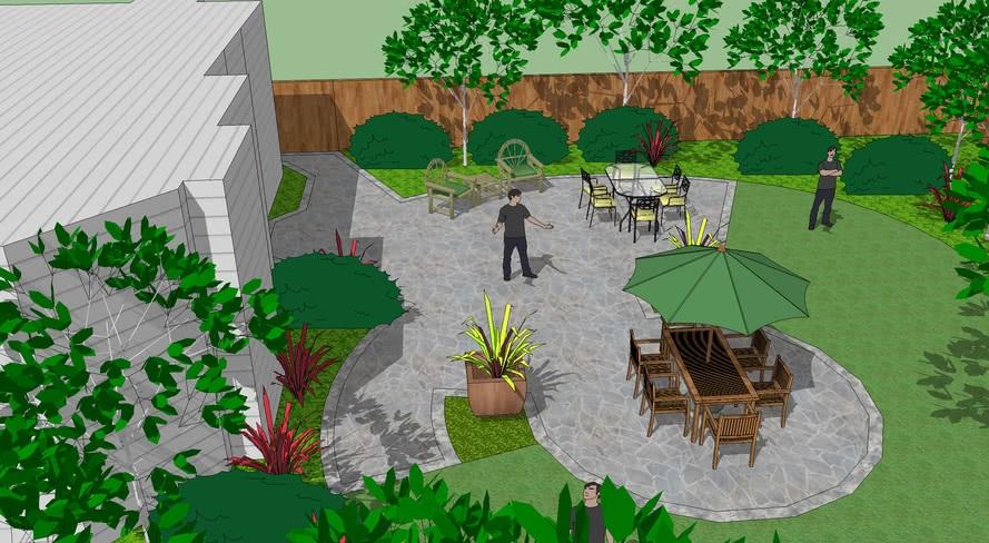 Suite Arsitek Rumah Taman 3D