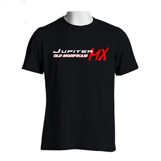 Sablon Kaos Jupiter MX Polos | Tanjungbalai