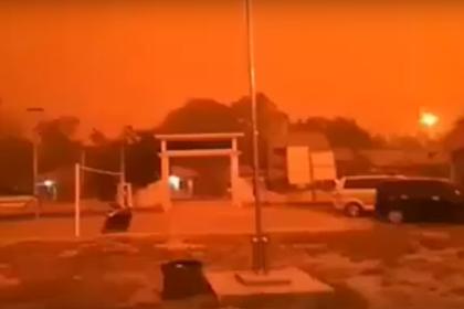 Mengerikan!! Langit Merah Muaro Jambi Siang Hari Akibat Kebakaran Hutan Dan Lahan Karhutla