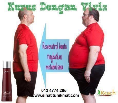Turun 16 kg sebulan kene kental