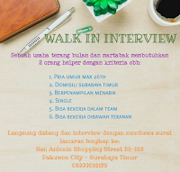 Walk In Interview at Martabak Terang Bulan Surabaya Timur Januari 2021