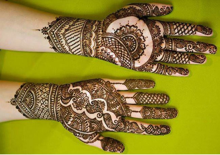 Mehndi Patterns And Designs : Latest stunning punjabi mehendi designs for girls