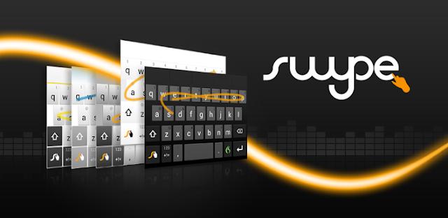 6 Aplikasi keyboard android terbaik dan paling recomended - Swype