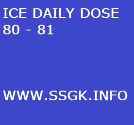 ICE DAILY DOSE 80 - 81