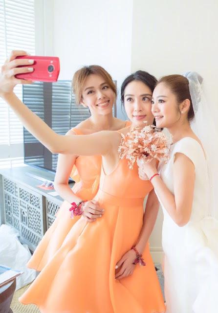 Ady An Wedding bridesmaids