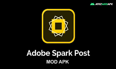 Adobe Spark Post Mod Apk [Premium Features Unlocked] V4.1.1 for Android