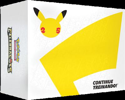 Coleção Dourada de Pokémon Celebrações