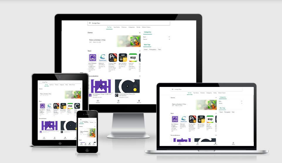 Google Plays v2 Responsive Blogger Template
