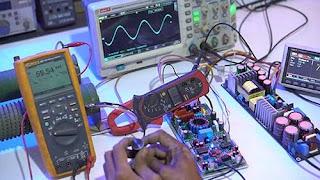 Test Load Class-D Amplifier D1K5 Pro Double Feedback at 8 OHM LOAD