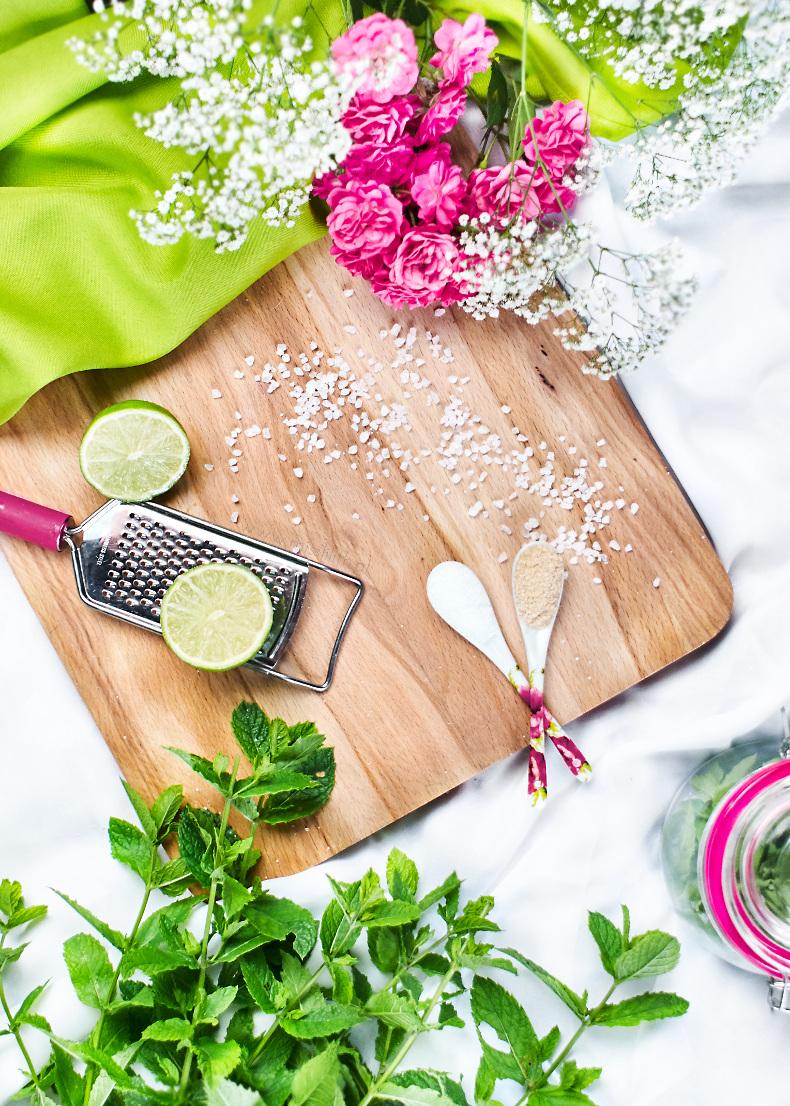 domowy peeling cukrowy mojito diy przepis blog