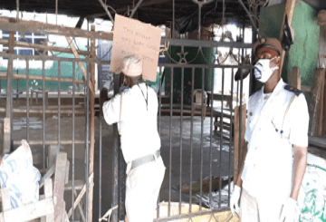 Agege central mosque sealed after attack on Task Force