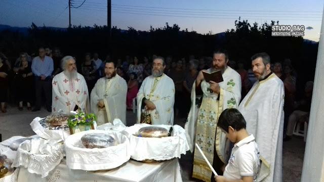 Γιόρτασαν τους Αγίους Αναργύρους στο Νέο Ηραίο