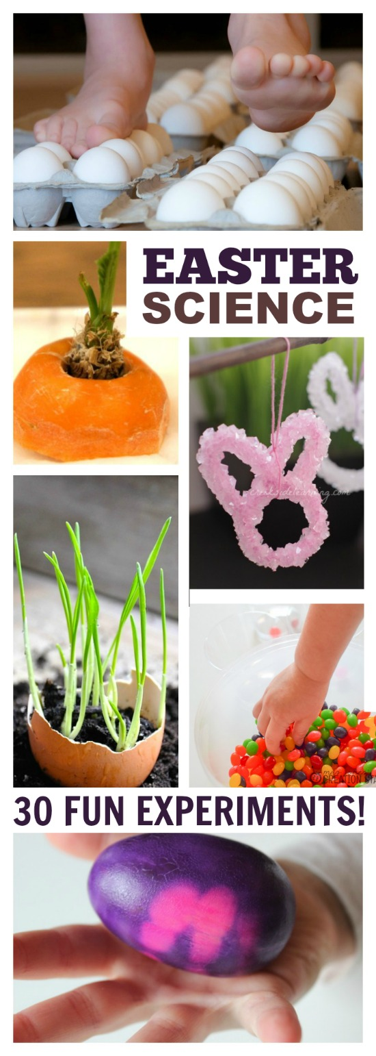 EASTER SCIENCE- 30 FUN EXPERIMENTS FOR KIDS! #scienceexperimentskids #easterscienceforkids #scienceforkids #easteractivitiesforkids #eastercraftsforkids #activitiesforkids #craftsforkids